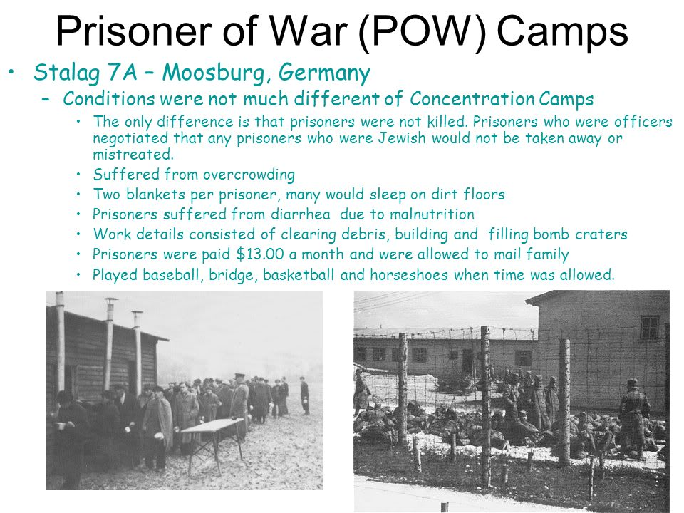 prisoner treatment in different concentration camps during holocaust Different european states and regions  concentration camps was constantly and deliberately undermined by the  psychosocial coping response during the holocaust.
