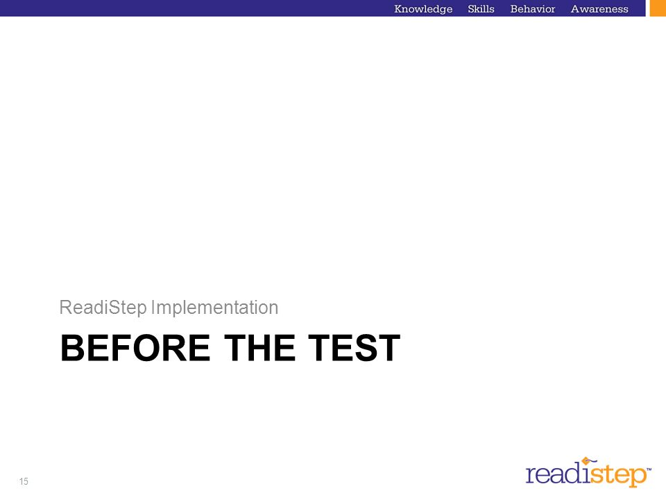 ReadiStep Implementation
