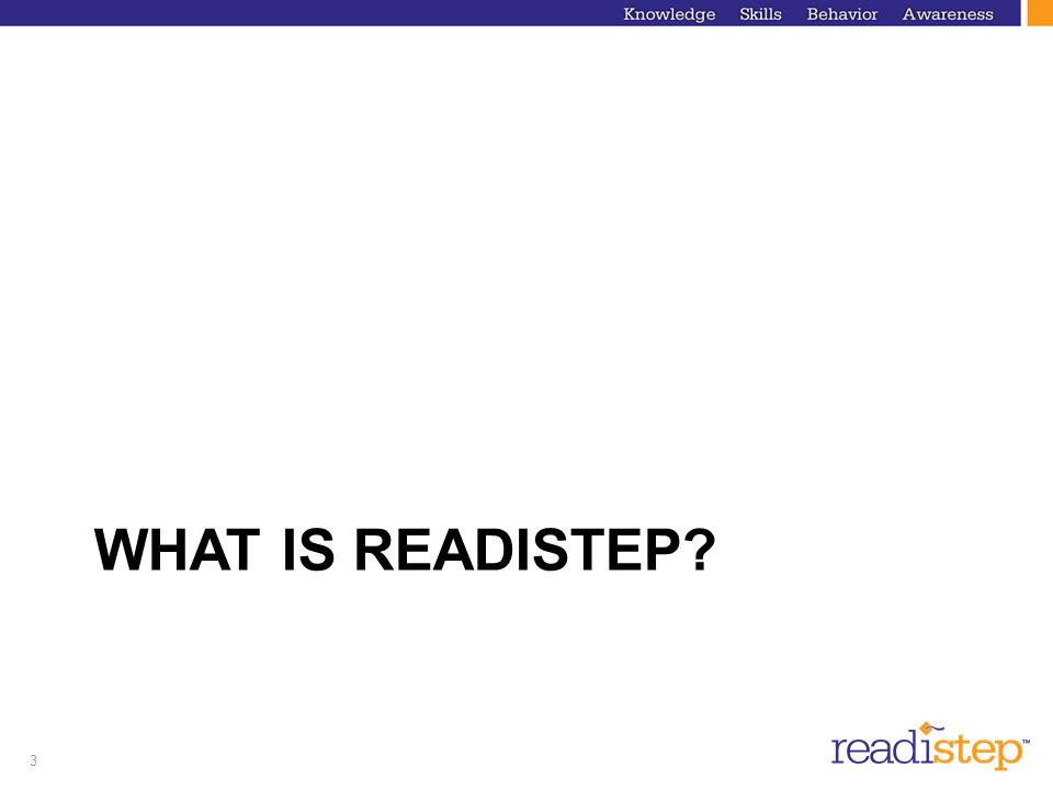 What is ReadiStep