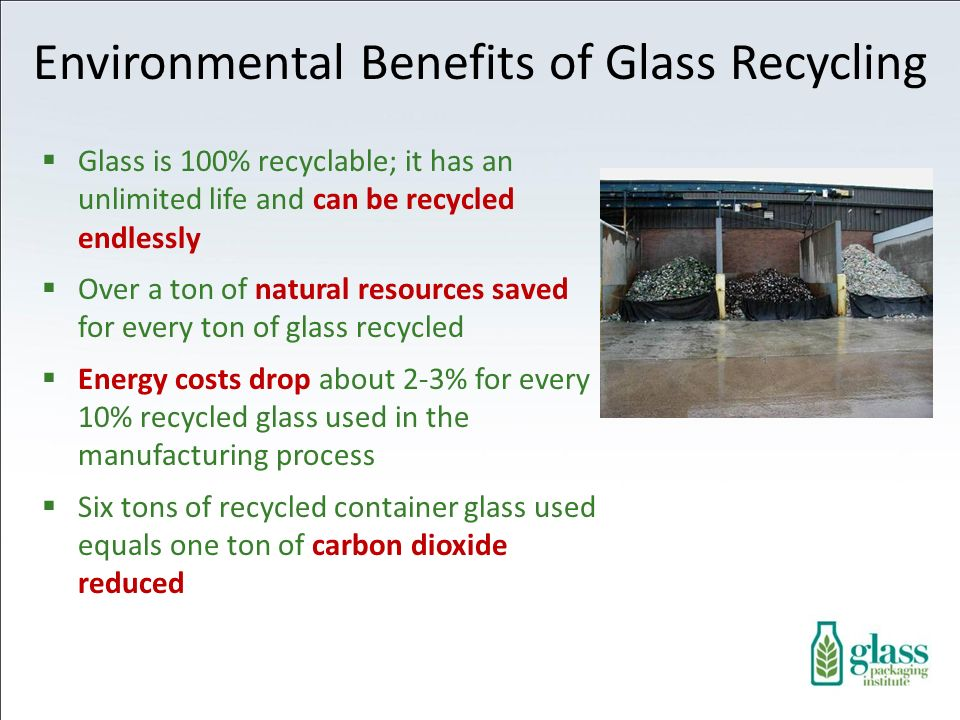 Environmental Benefits of Glass Recycling