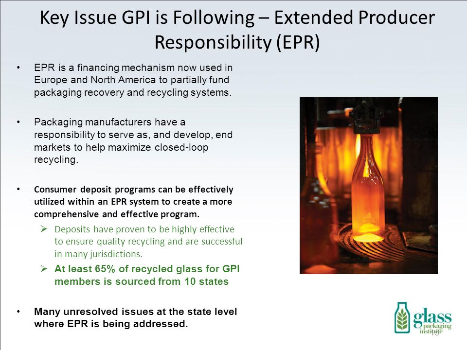 Key Issue GPI is Following – Extended Producer Responsibility (EPR)