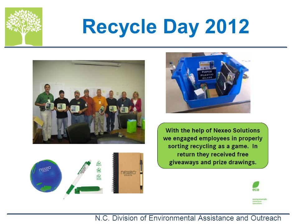 Recycle Day 2012