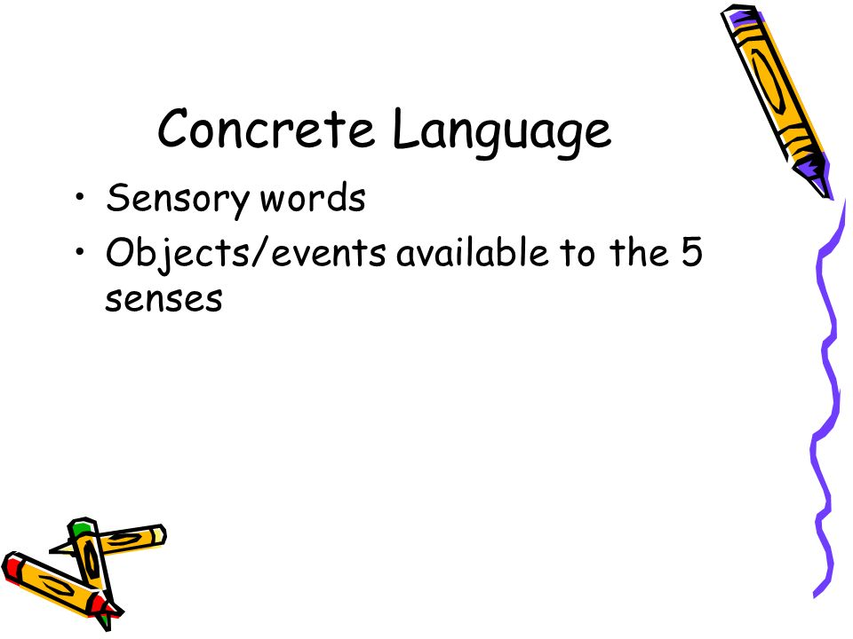 Lit terms ppt video online download for Concrete diction