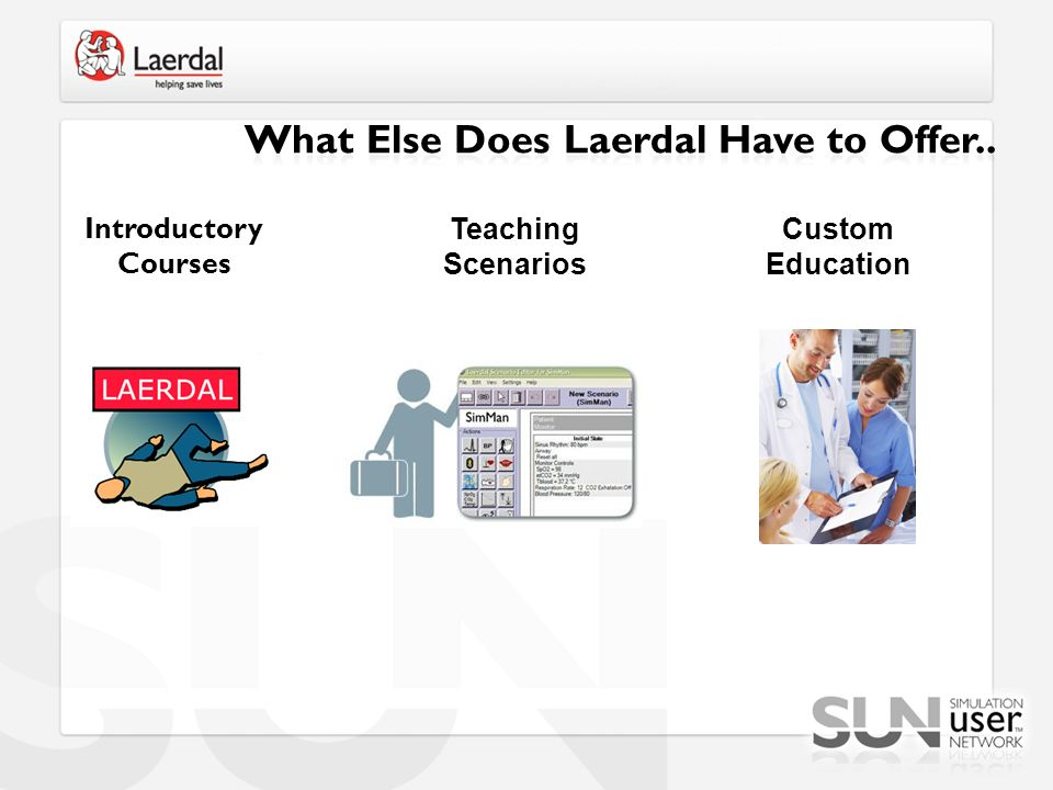 What Else Does Laerdal Have to Offer..
