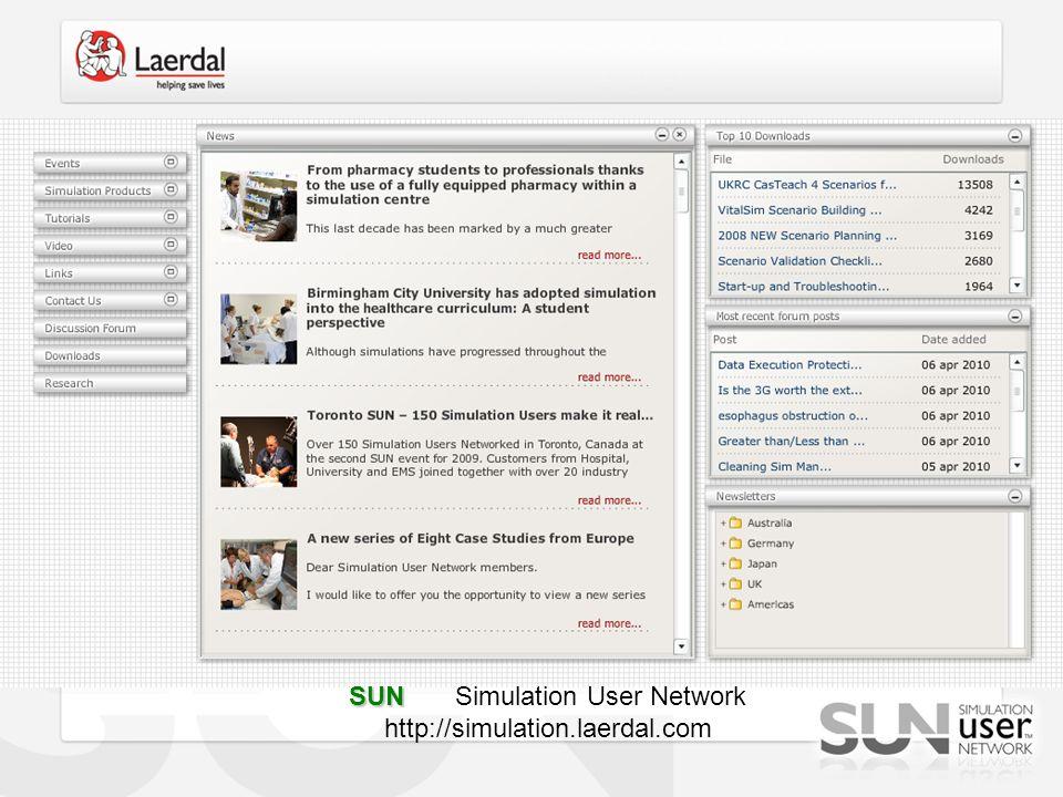 SUN Simulation User Network