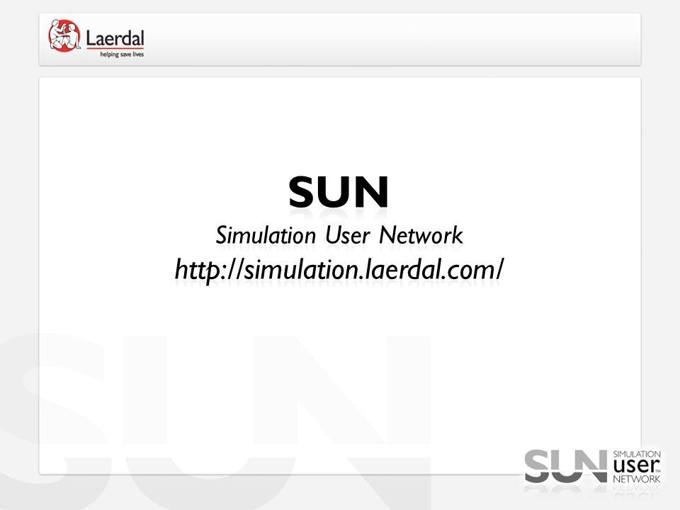 SUN Simulation User Network http://simulation.laerdal.com/
