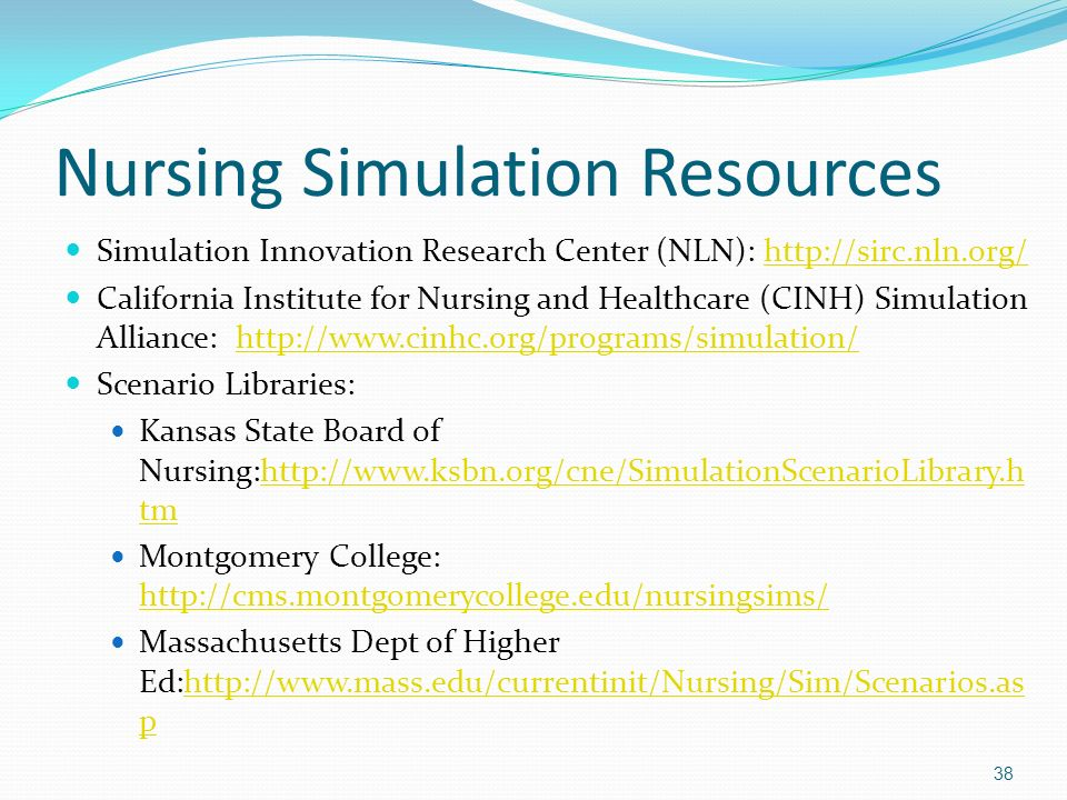 Nursing Simulation Resources