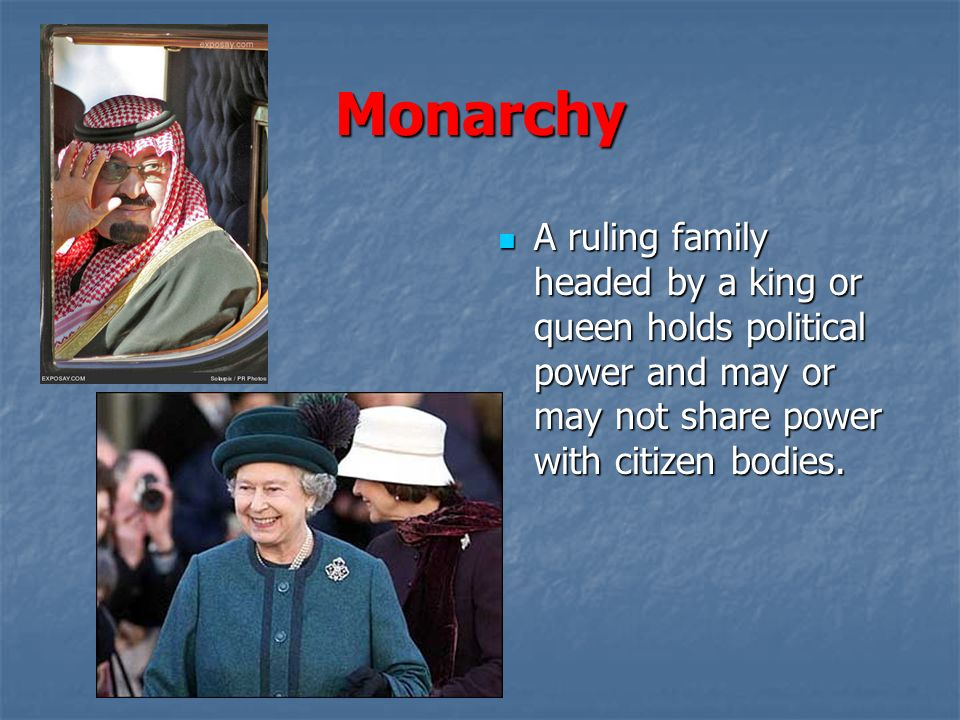 Monarchial ruling families in england