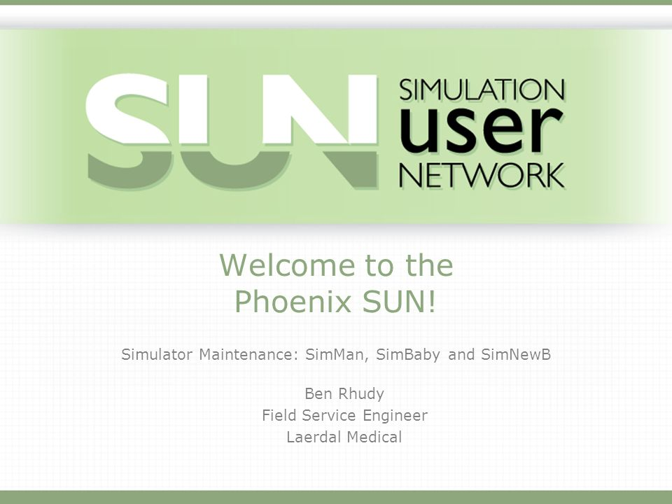 Welcome to the Phoenix SUN!