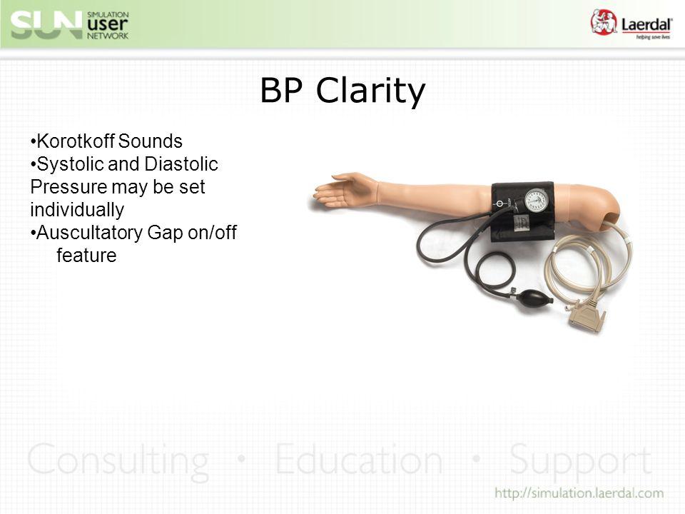 BP Clarity Korotkoff Sounds