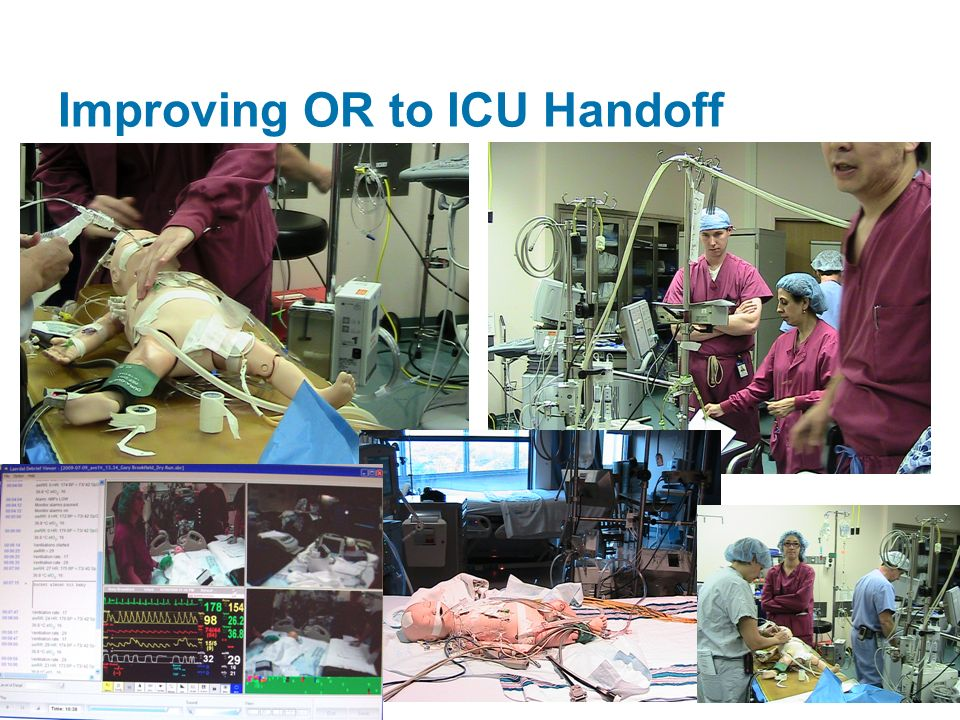 Improving OR to ICU Handoff