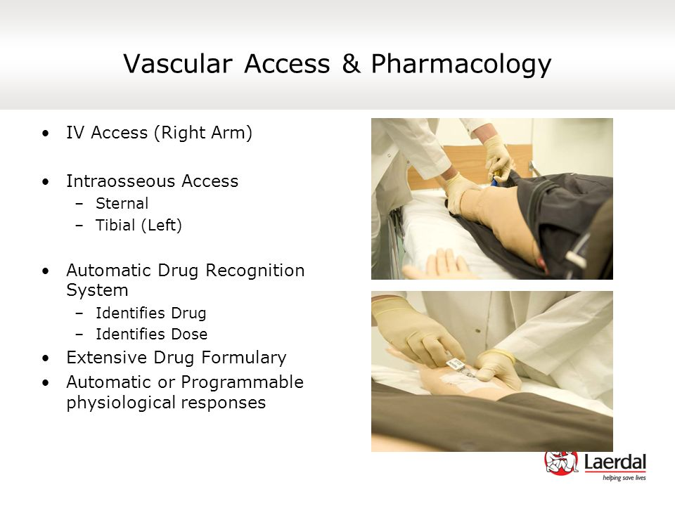Vascular Access & Pharmacology
