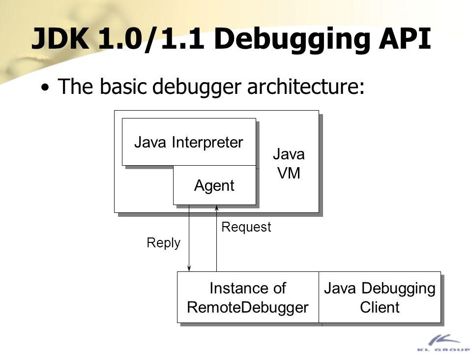 Instance of RemoteDebugger