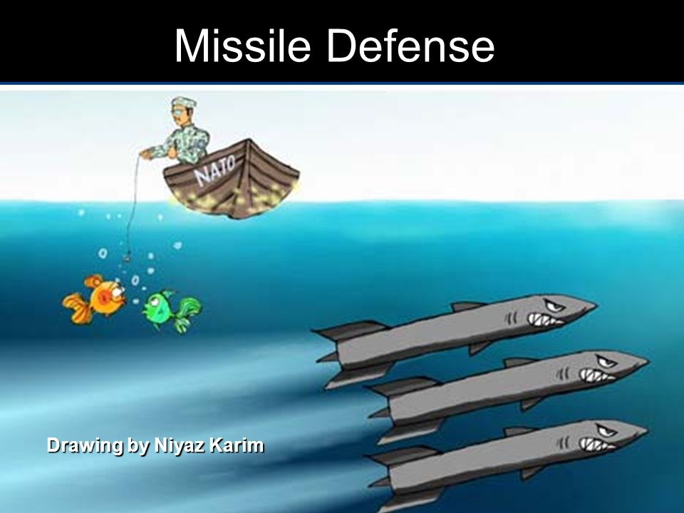 Missile Defense Drawing by Niyaz Karim