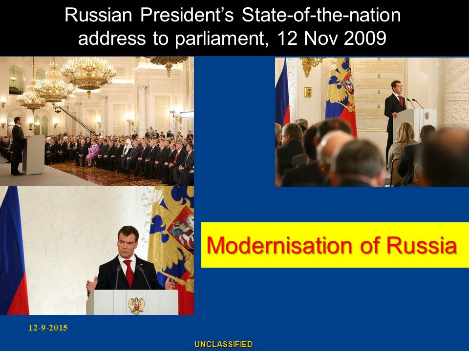 Modernisation of Russia