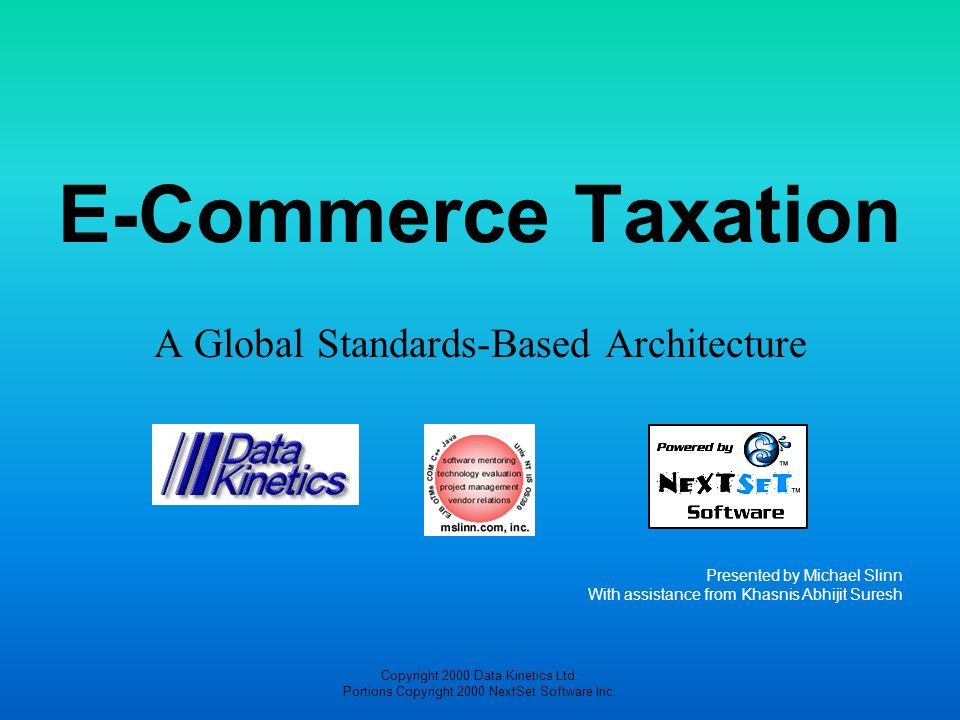 A Global Standards-Based Architecture