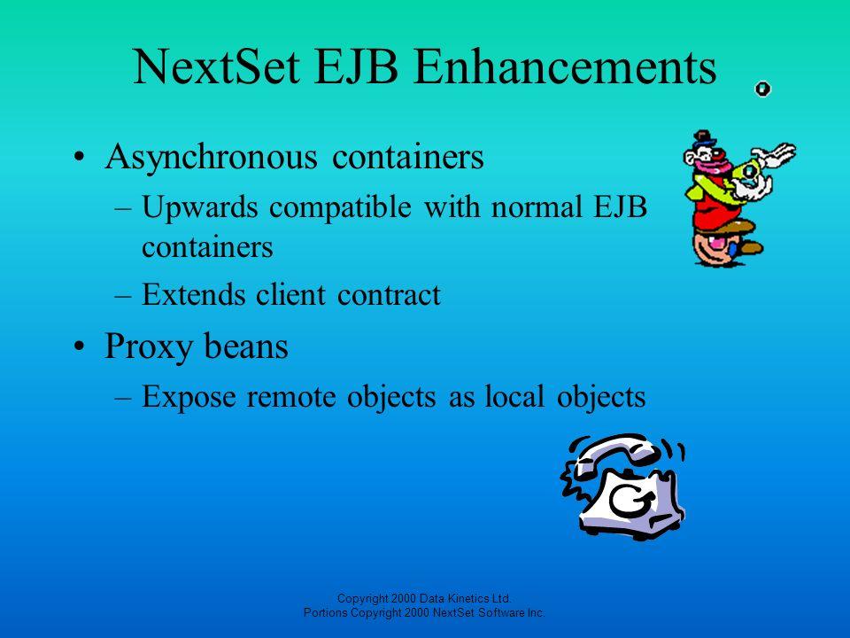 NextSet EJB Enhancements