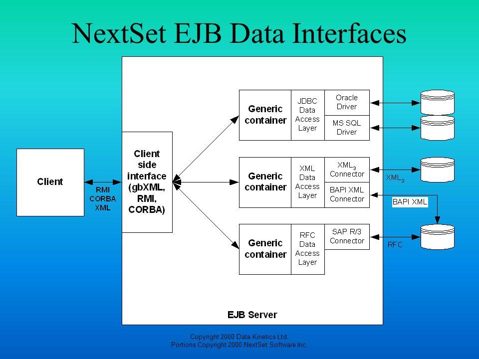 NextSet EJB Data Interfaces