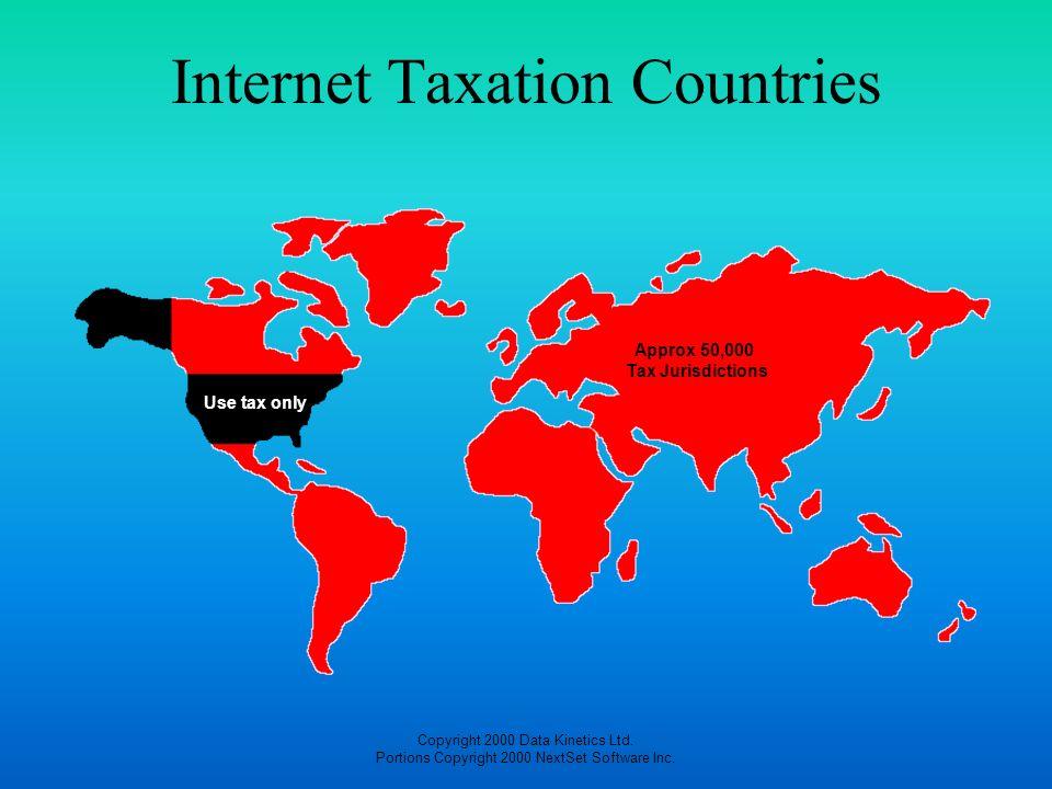 Internet Taxation Countries