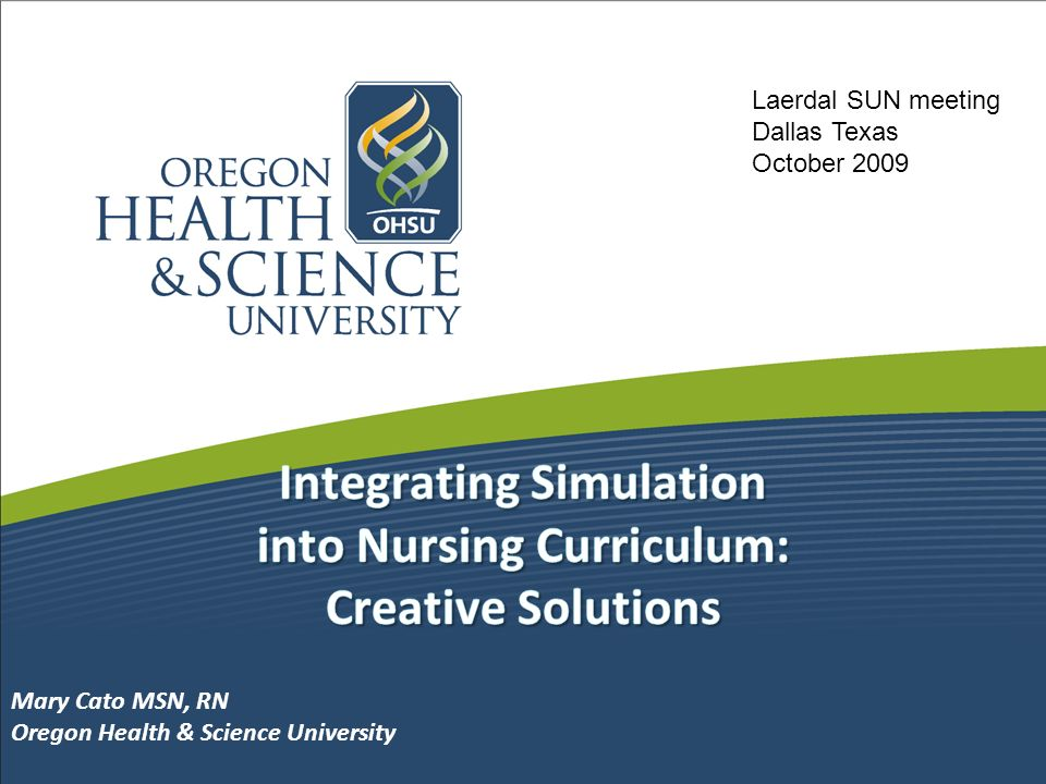 Integrating Simulation into Nursing Curriculum: Creative Solutions