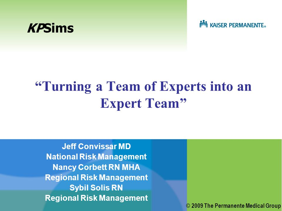 Turning a Team of Experts into an Expert Team