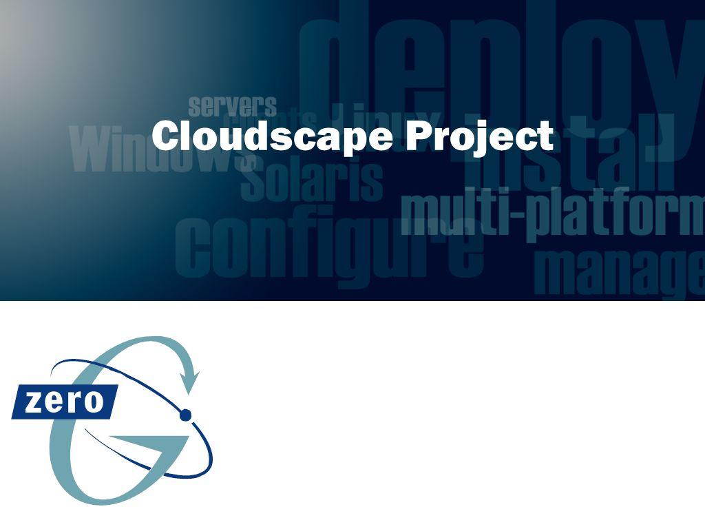 Cloudscape Project