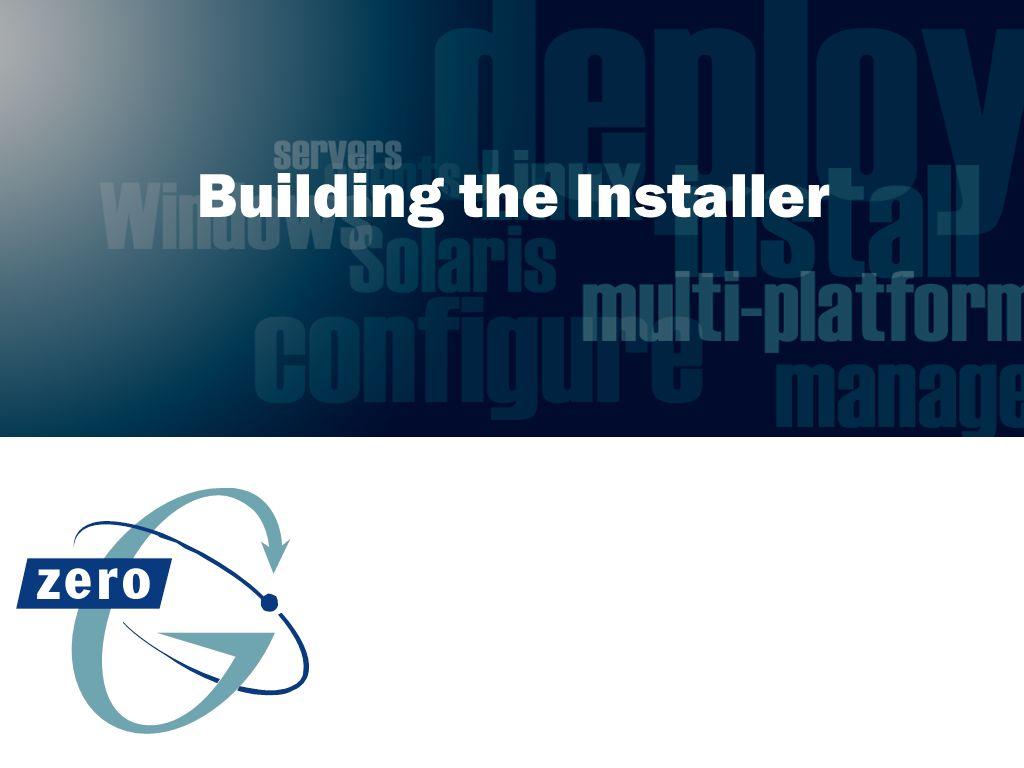 Building the Installer