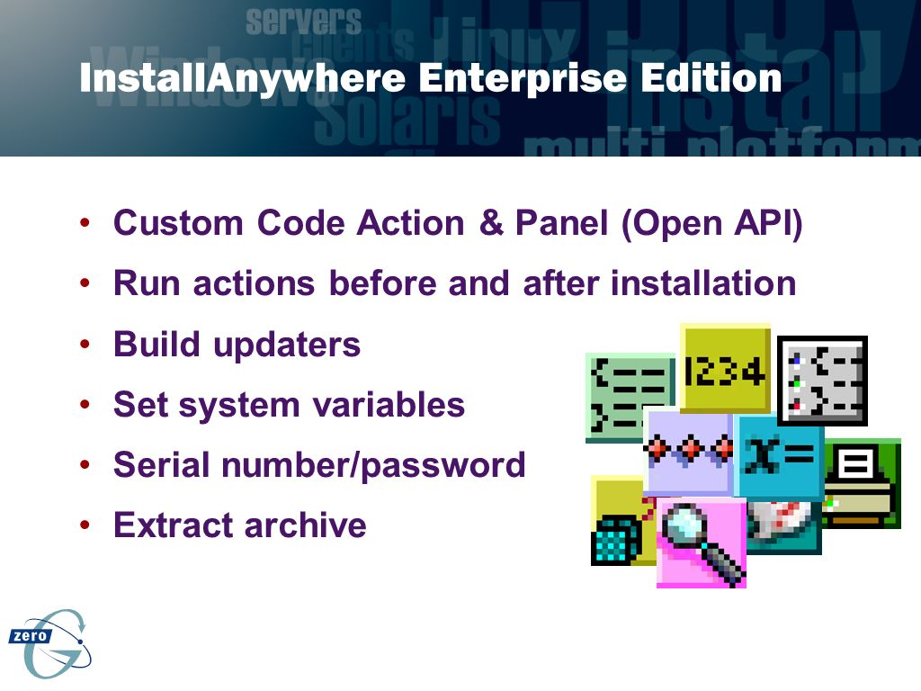 InstallAnywhere Enterprise Edition