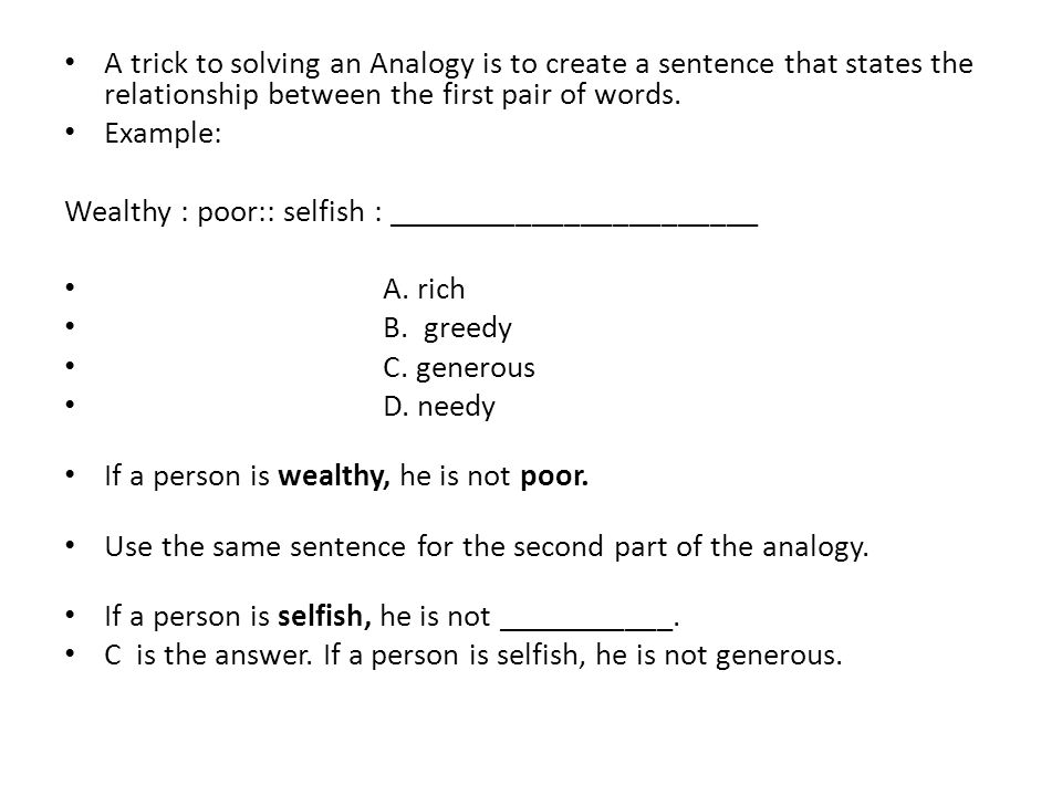 Analogies What Are They Ppt Video Online Download