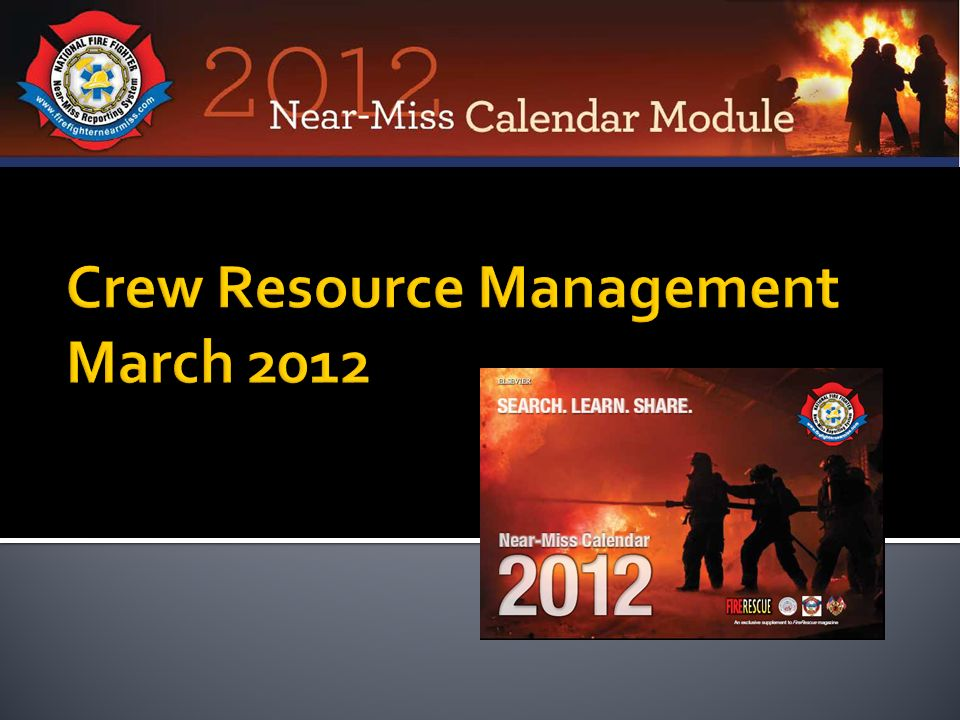 Crew Resource Management March 2012