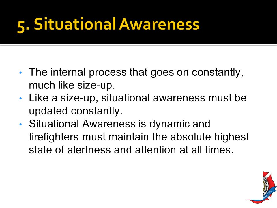 5. Situational Awareness