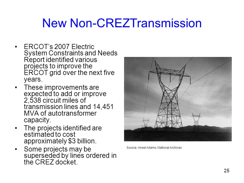 New Non-CREZTransmission