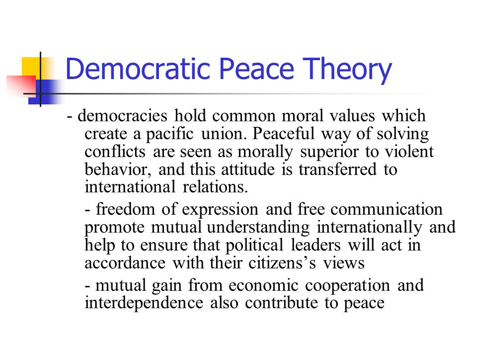 Immanuel Kant and the Myth of Perpetual Peace