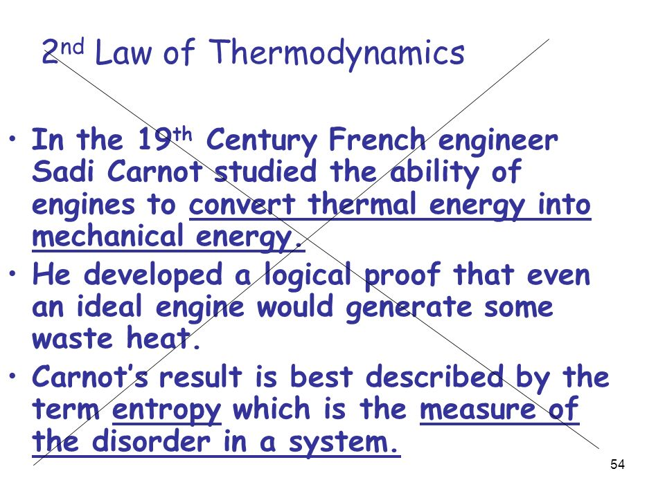 2nd law of thermodynamics equation pdf