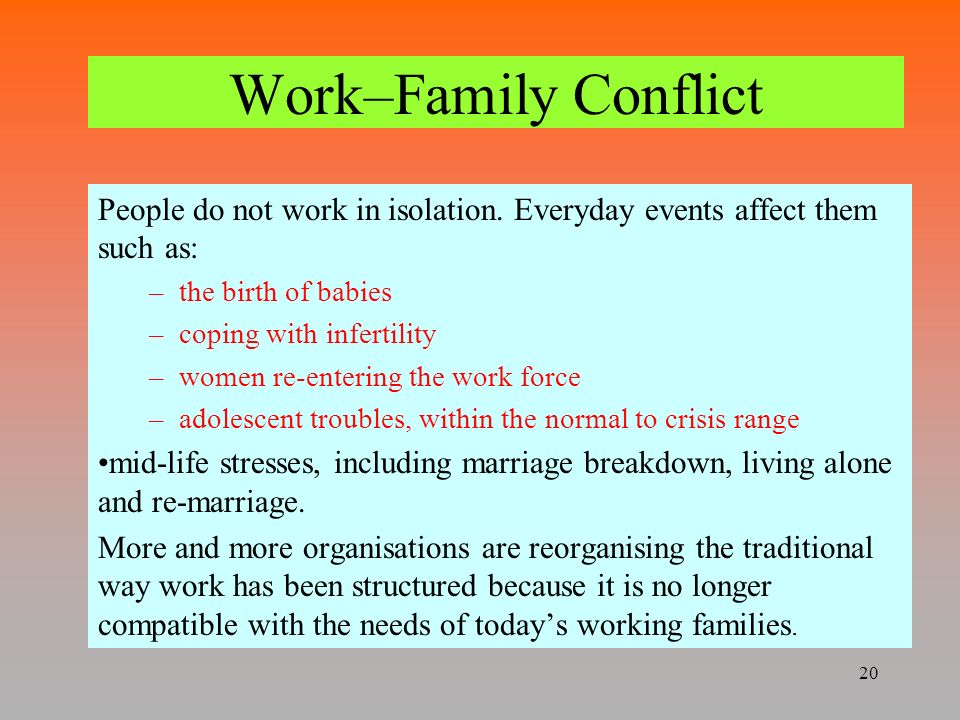 the conflict within the coulter family Get tips from a communication expert and a stress management expert on family conflict resolution for stress relief.
