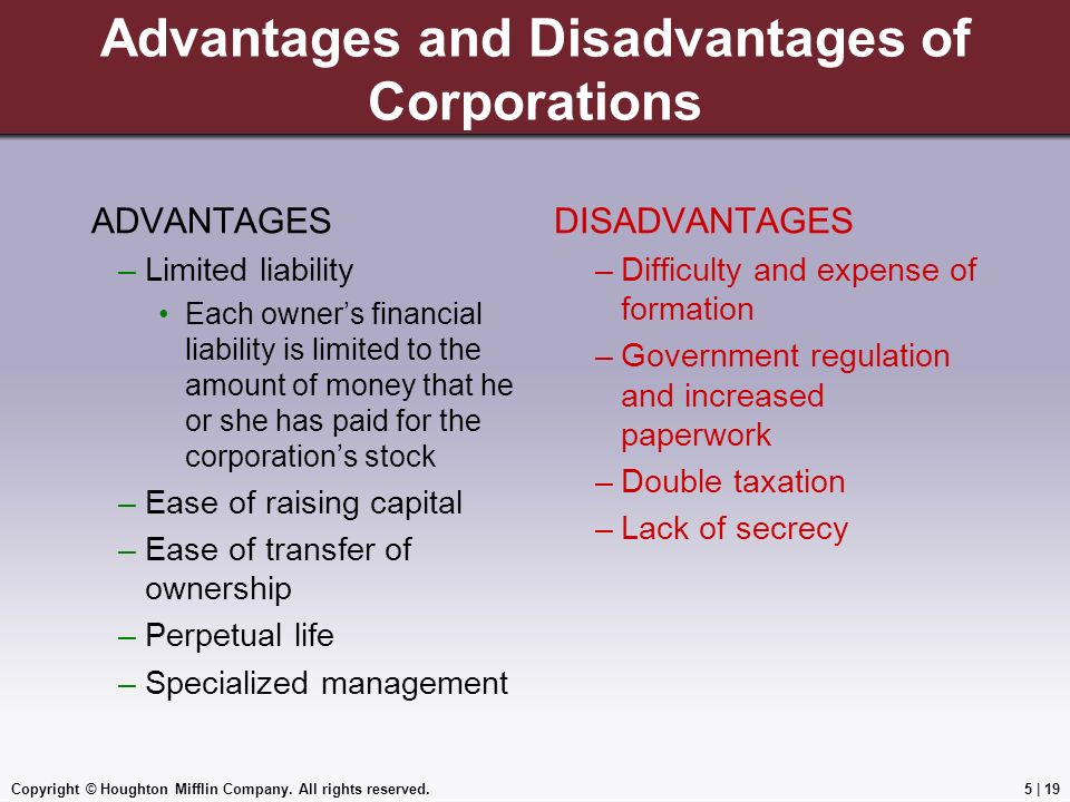 advantages and disadvantages of limited liability Limited liability partnerships advantages of a limited liability partnership disadvantages of a limited liability partnership.
