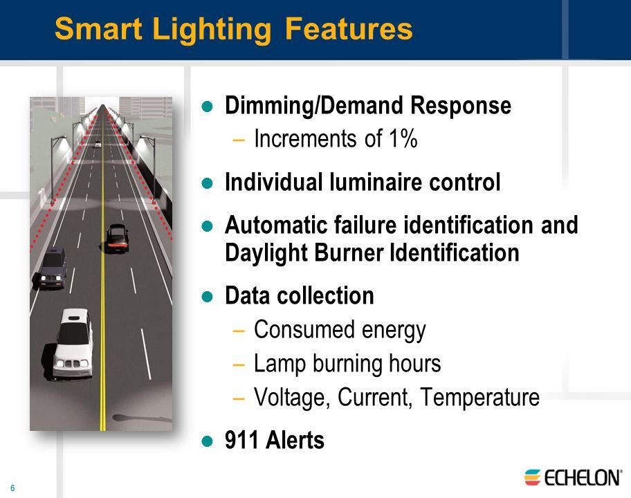 Smart Lighting Features