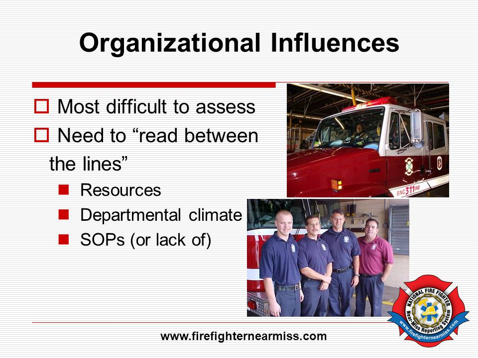 Organizational Influences