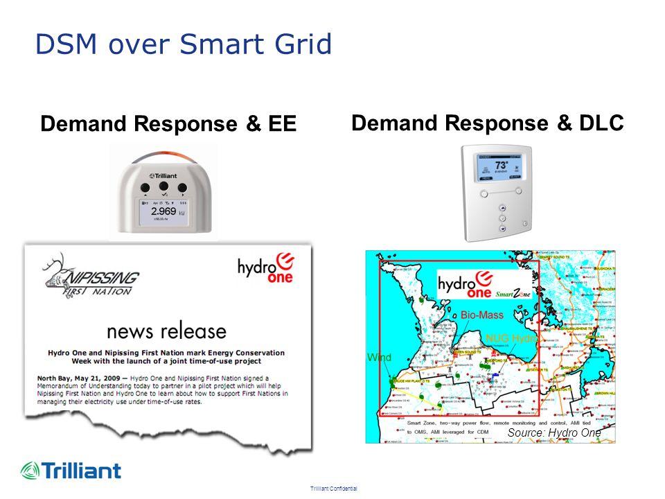 DSM over Smart Grid Demand Response & EE Demand Response & DLC