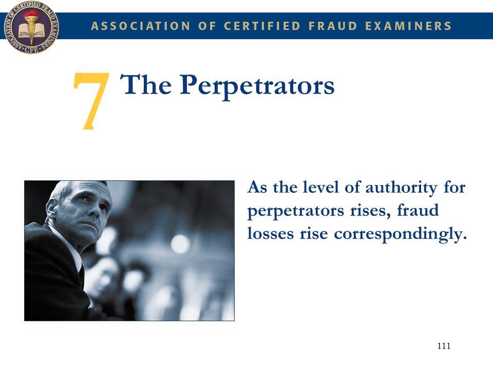 7 The Perpetrators.