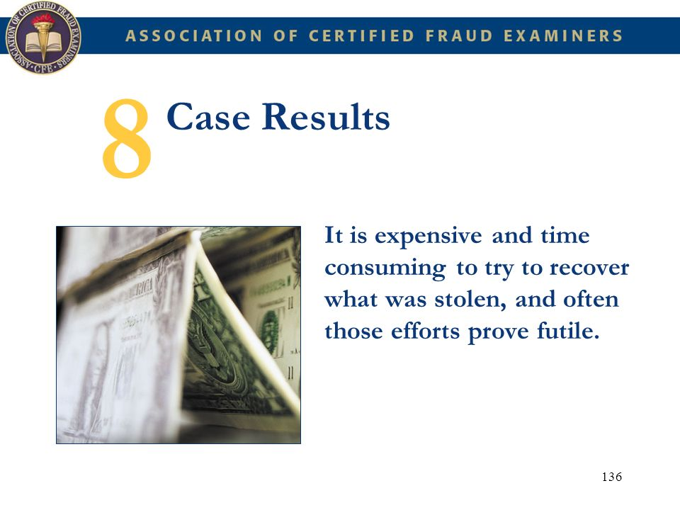 8 Case Results.