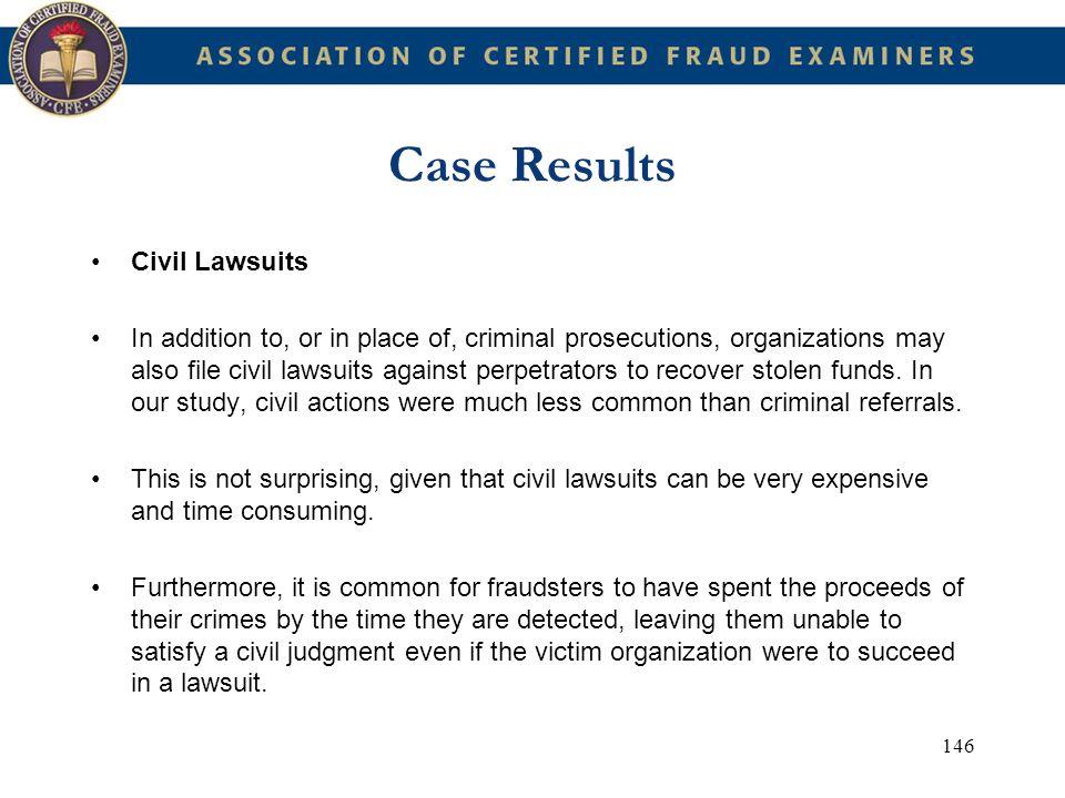 Case Results Civil Lawsuits