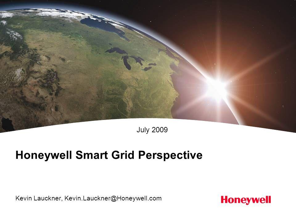 Honeywell Smart Grid Perspective