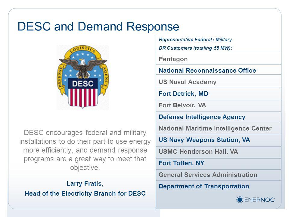 DESC and Demand Response