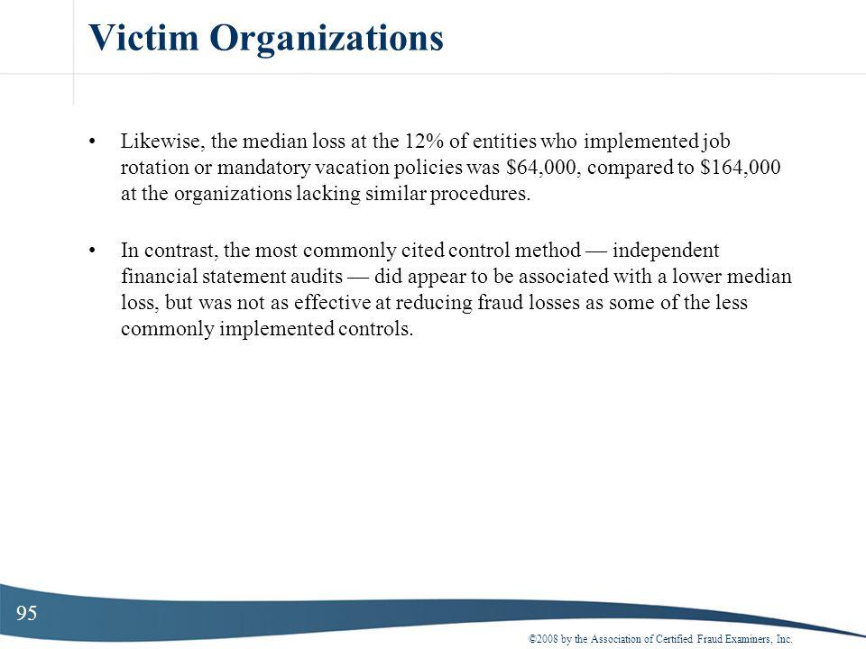 Victim Organizations
