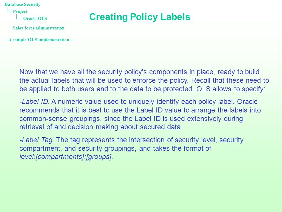 Database Security Antoine Pottin. - Ppt Download