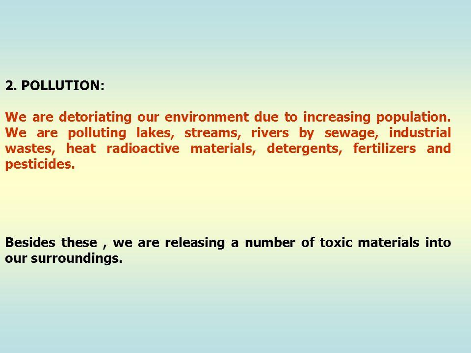 2. POLLUTION:
