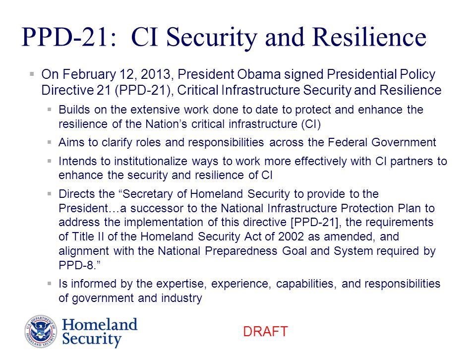 PPD-21: CI Security and Resilience