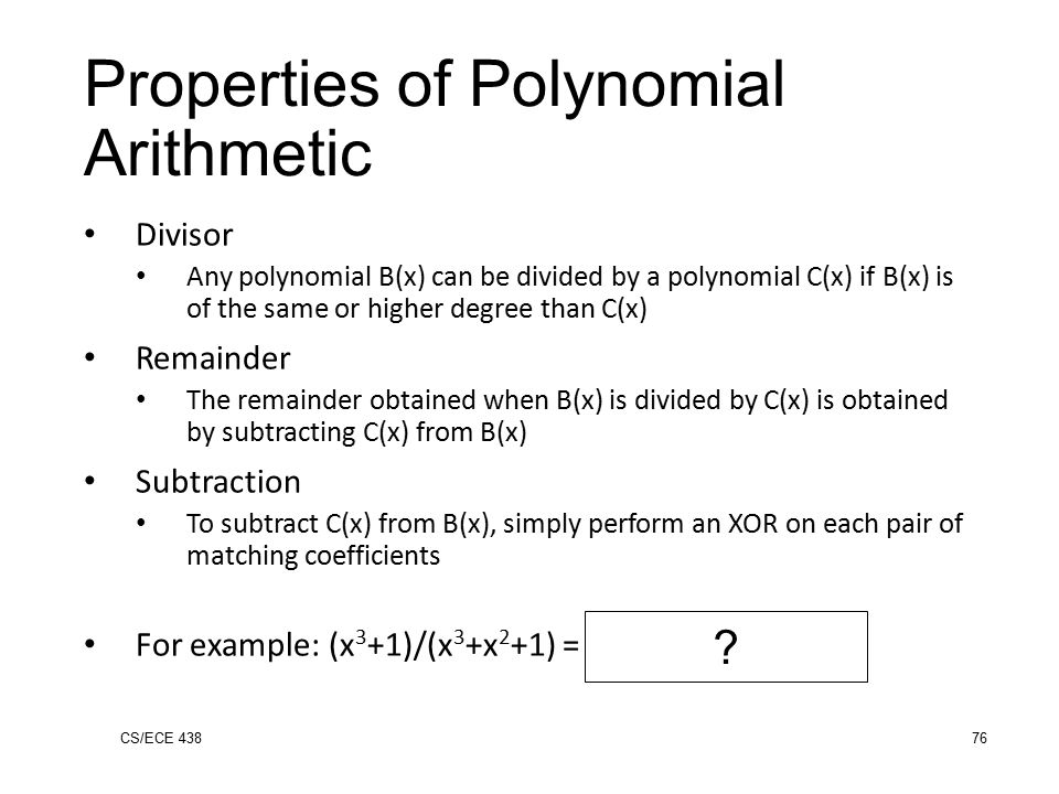 Polynomials and Divisibility Rule - Stack Exchange