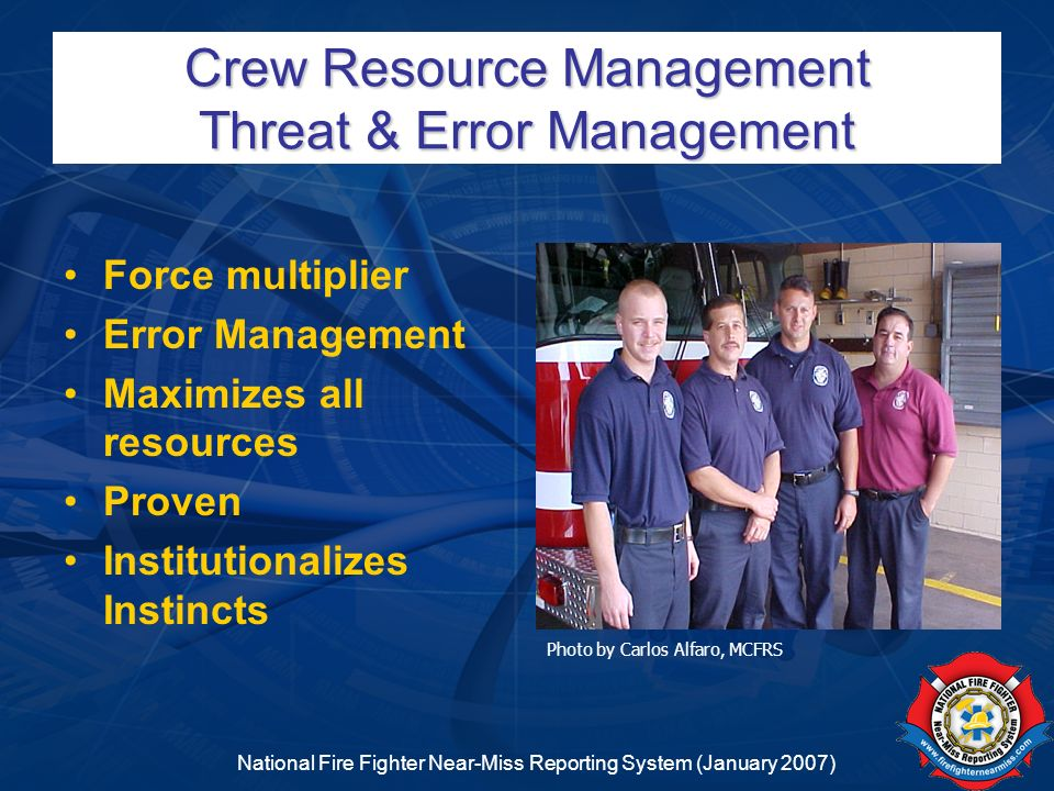 Crew Resource Management Threat & Error Management